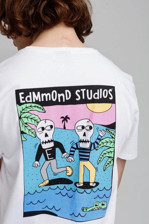 White Voodoo jungle T-Shirt - Life in Paradigm Menswear London