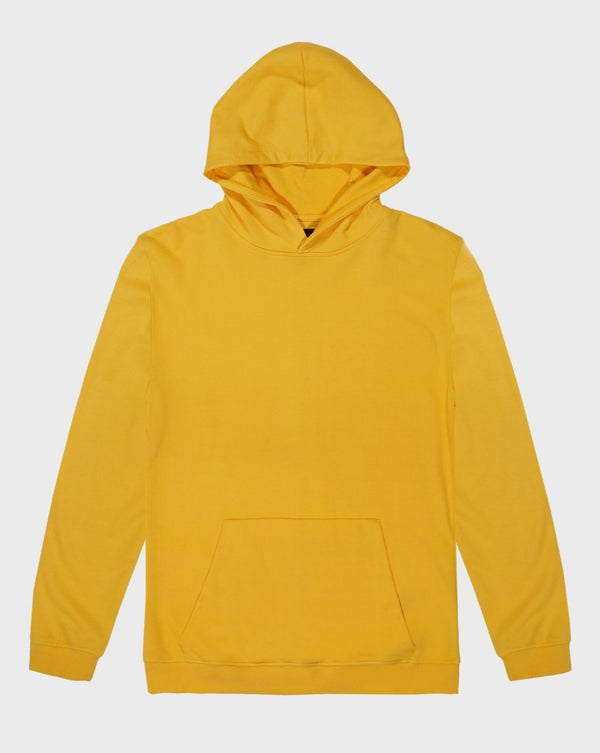 Yellow Hoodie - Life in Paradigm Menswear London