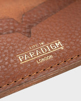 Brooke Brown Leather Card Holder - Life in Paradigm Menswear London