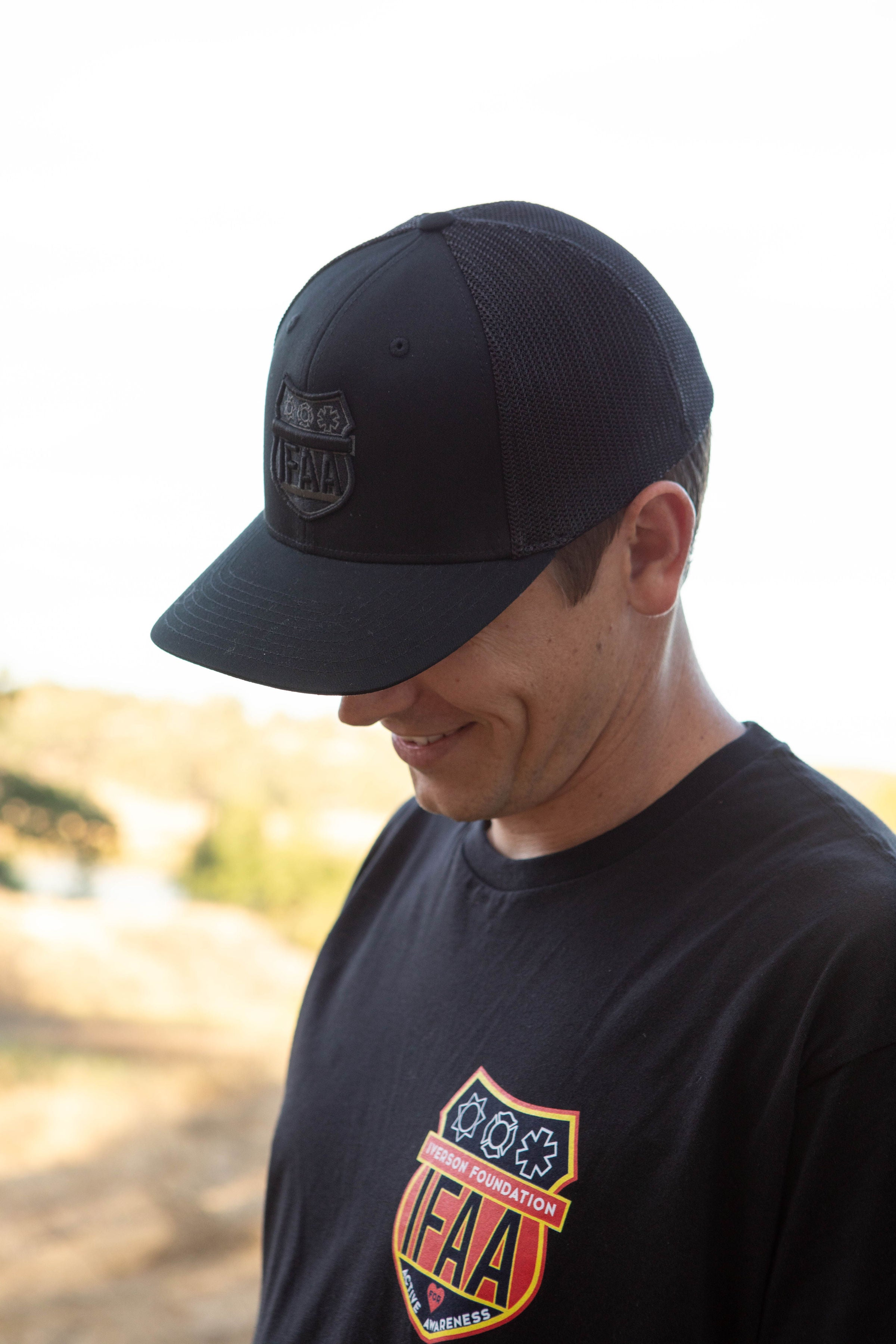 IFAA Flex Fit Logo Hat