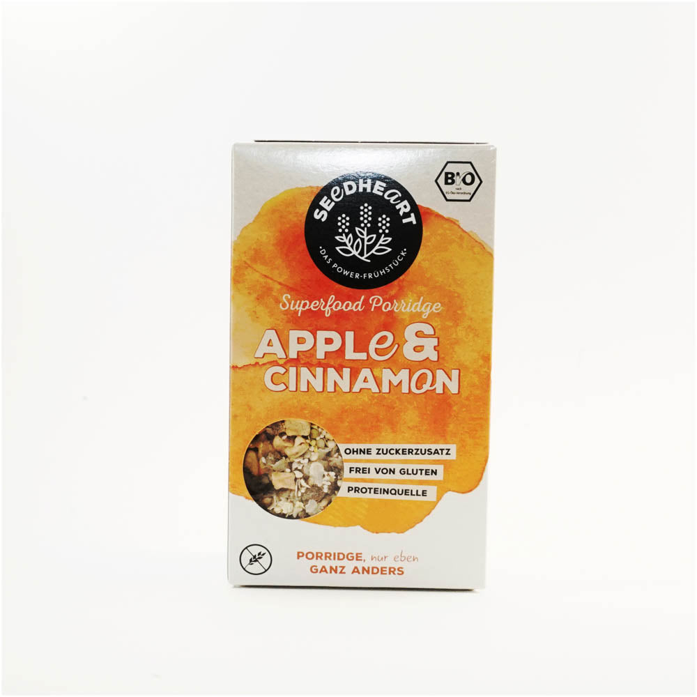 Superfood Porridge Apple and Cinnamon