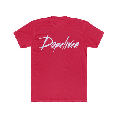 Dopeliven, Men's Cotton Crew Tee