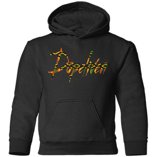 Dopeliven Kente Toddler Pullover Hoodie