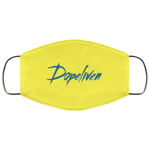 DopeLiven, FMA Face Mask, (Blue Logo, Multiple Colors Available)