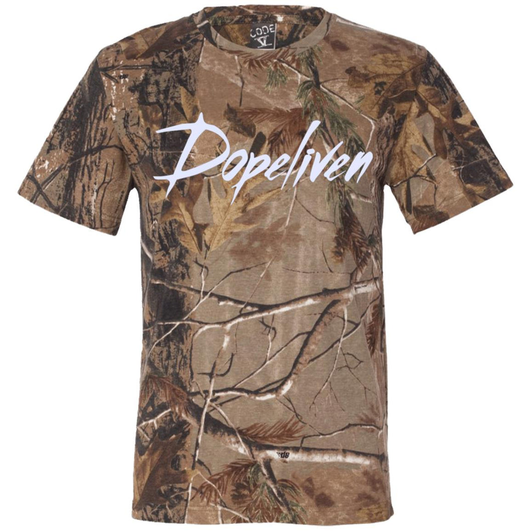 Dopeliven Short Sleeve Camouflage T-Shirt