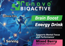 Load image into Gallery viewer, Brain Boost Energy Drink Mix-Berry Flavored (25 single serving packets)