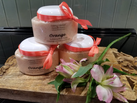 Orange - Sugar & Jojoba Beads Scrub