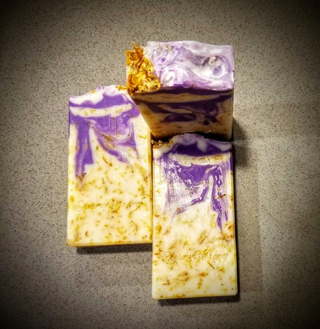 Calendula soap, Natural, Organic, handmade soap, Cocoa butter, Mango butter, Calendula infused oil