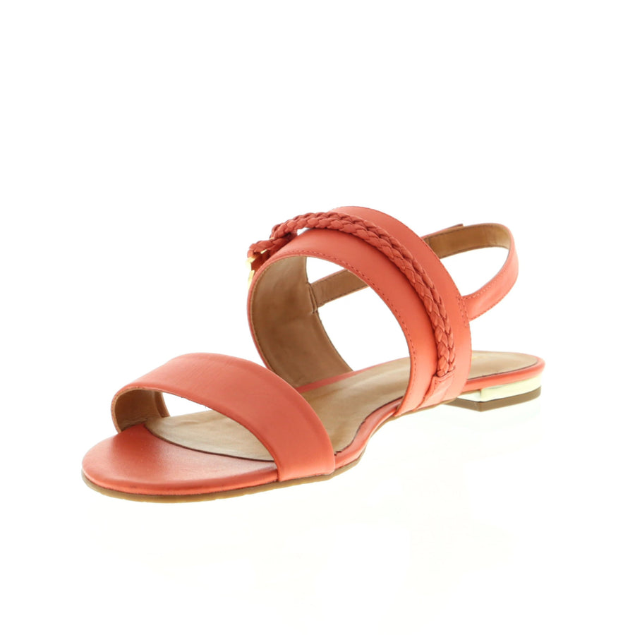 Lucky Flat Sandal - Coral