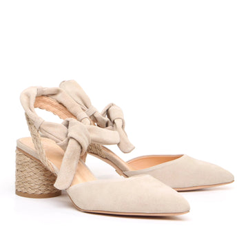 Baden Slingback Shoe Natural