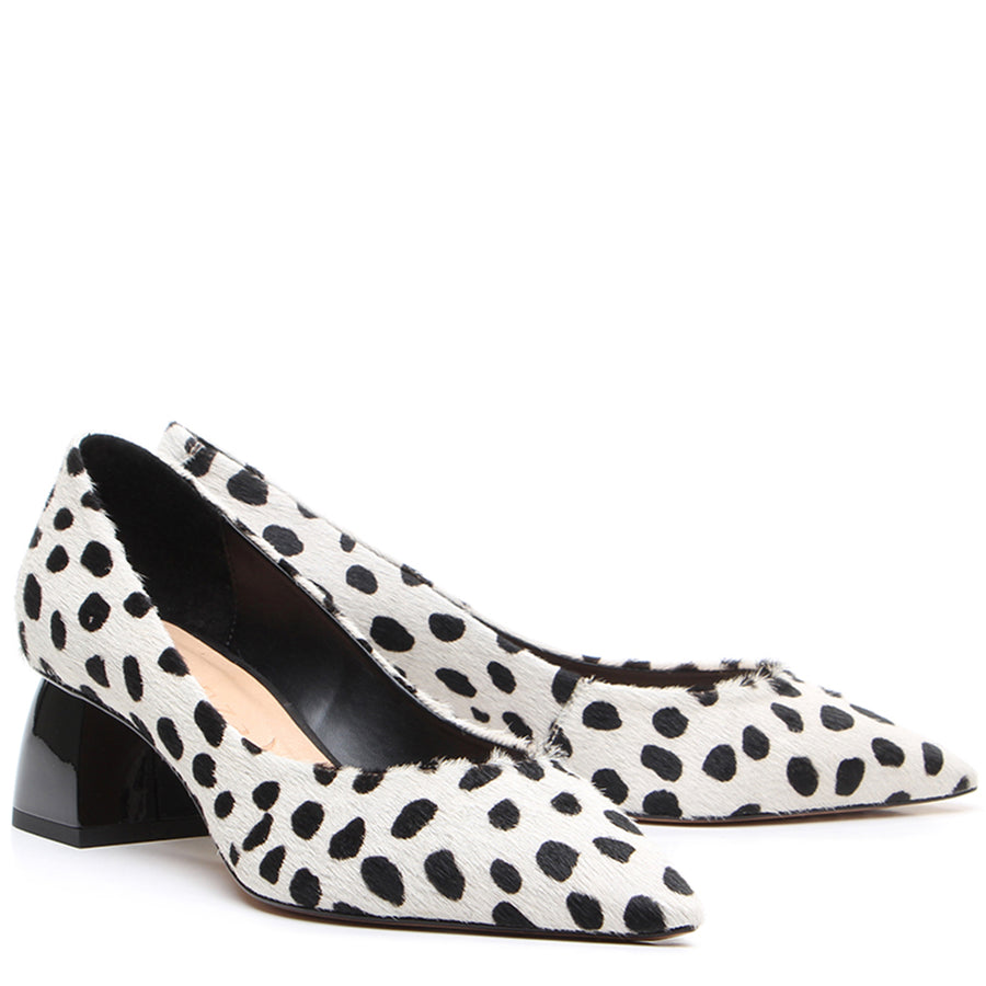Dalmatian Court Shoes