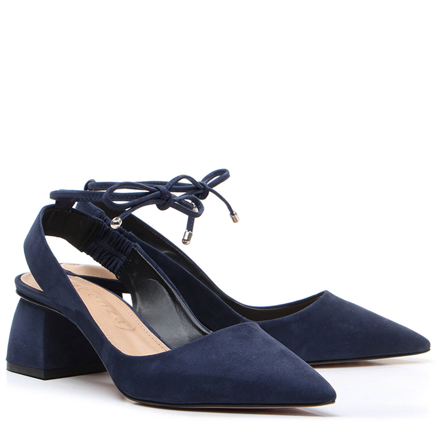 Montreal Slingback Pump Navy