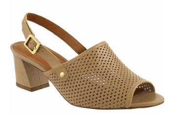 Carolina Mid Heel Sandals