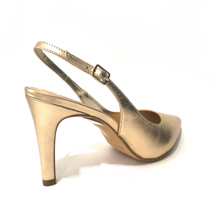 Drill Slingback Champagne