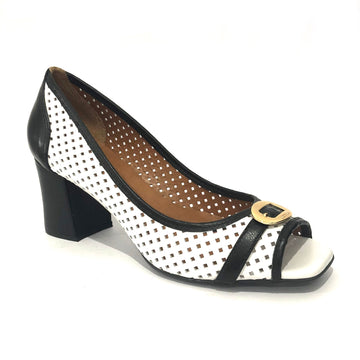 Lettie Peep-Toe Court