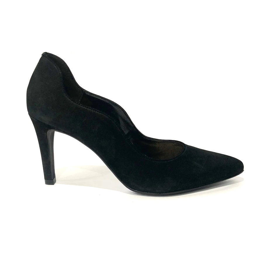 Giselle Pump Black Suede