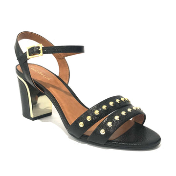 Lotta Heeled Sandal Black