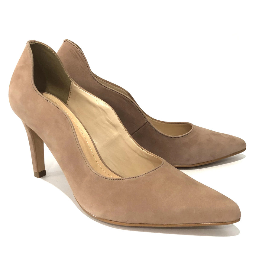 Giselle Pump Blush Suede