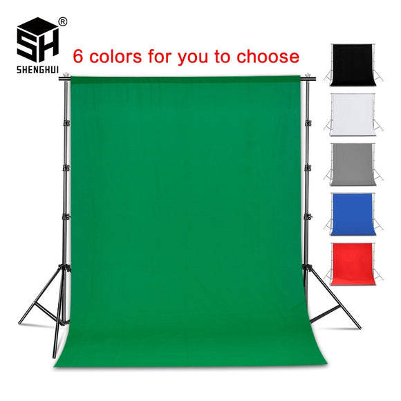 KaraokeJoeful Virtual Choir Photography Background Backdrop Smooth Muslin Cotton Green Screen Chromakey Cromakey Background Cloth For Photo Studio Video