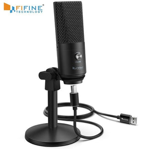 KaraokeJoeful - Compact Desktop USB recording Microphone for your studio.