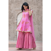 Pink Tulip Sharara Set