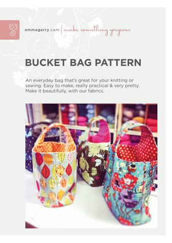 Emma Garry - Bucket Bag Pattern