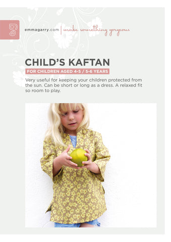 E.G. - Childs Kaftan 4-6yrs