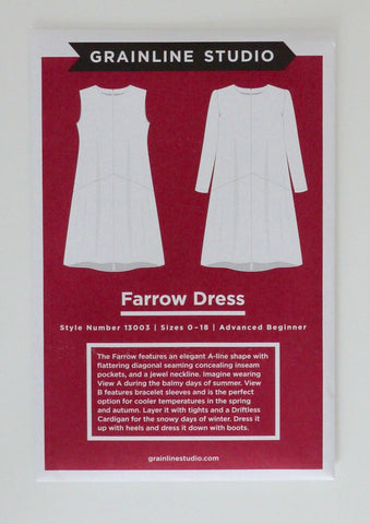 Grainline - Farrow Dress