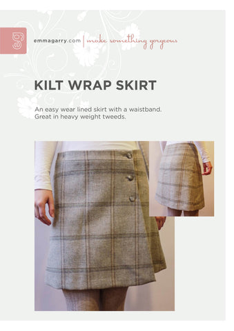 E.G. - Kilt Wrap Skirt