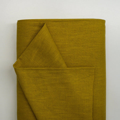 Linen - Mustard (medium weight)