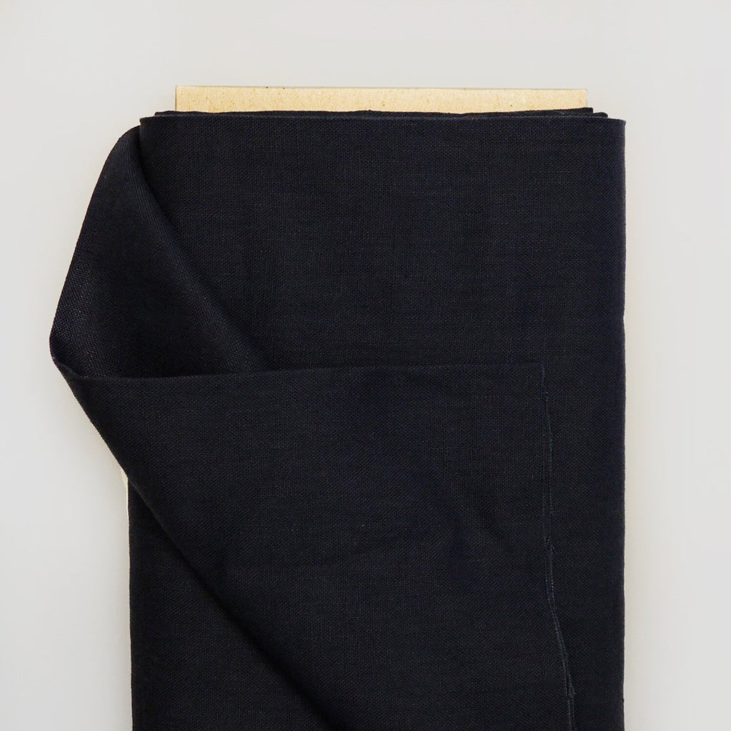 Irish Linen - Navy (Medium weight)