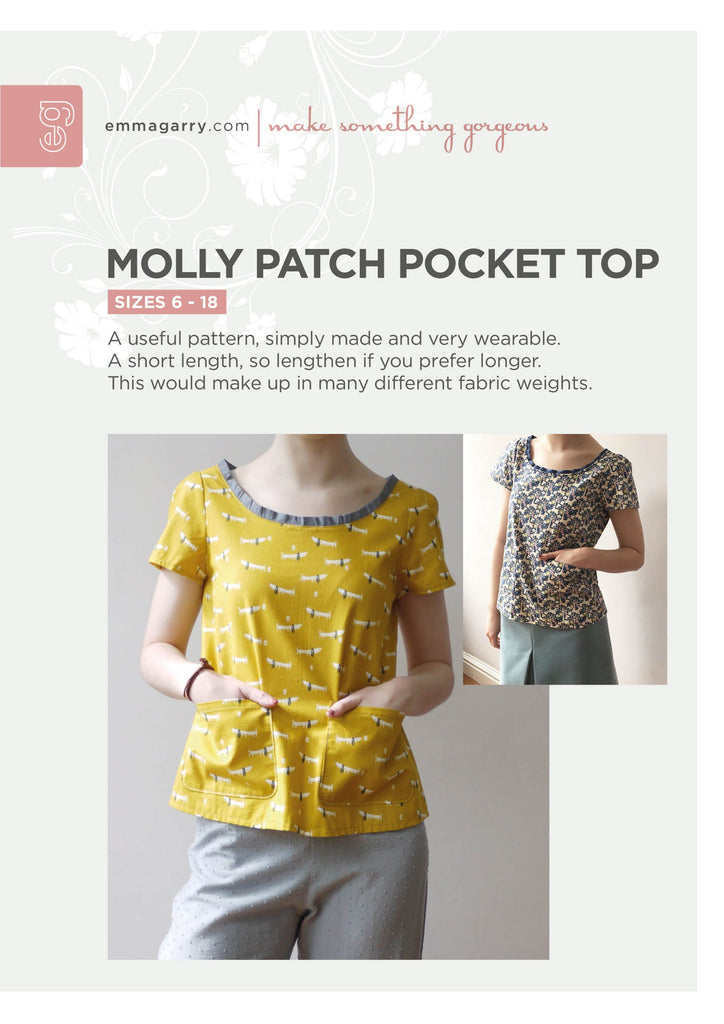 Emma Garry - Molly Patch Pocket Top