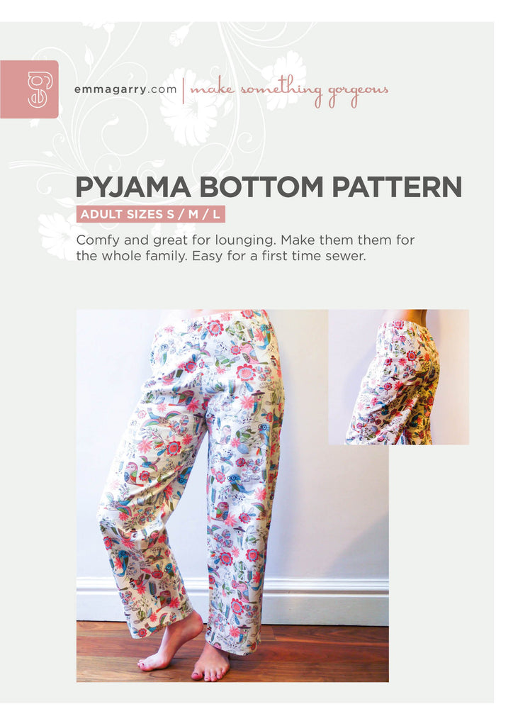 E.G. - Pyjama Bottoms (S/M/L)