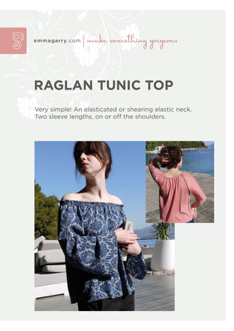 E.G. - Raglan Tunic Top