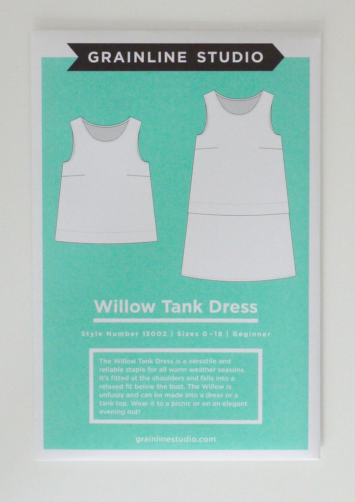 Grainline - Willow Tank Dress