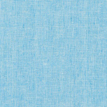 Robert Kaufman Linen - Essex Homespun Linen Paris Blue