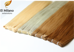 "24"" Length East-European Colored & Blond Weft Hair Extensions"
