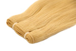 East-European Blond Color Weft Hair Extensions
