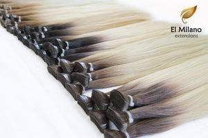"20"" Length Virgin East-European hair Tape In Extensions"