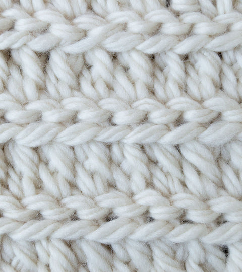 Crochet Stitch: Braided Extended Half Double Crochet
