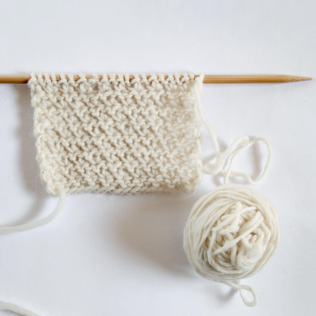 Easy and Textured Knitting Stitch Tutorial