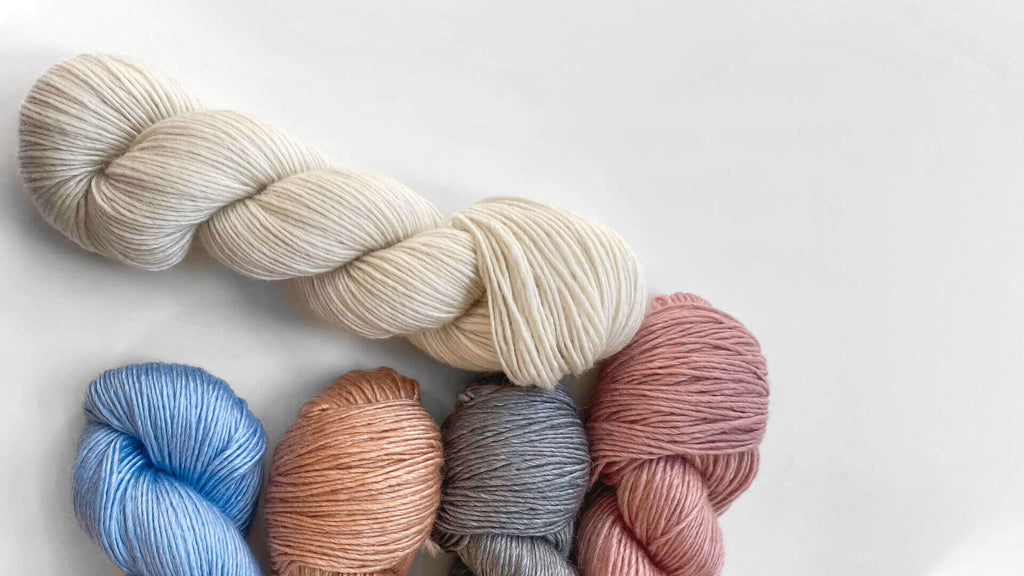 The Botanic Wool by Max and Herb - Sustainable yarn - made out of Tencel and Wool