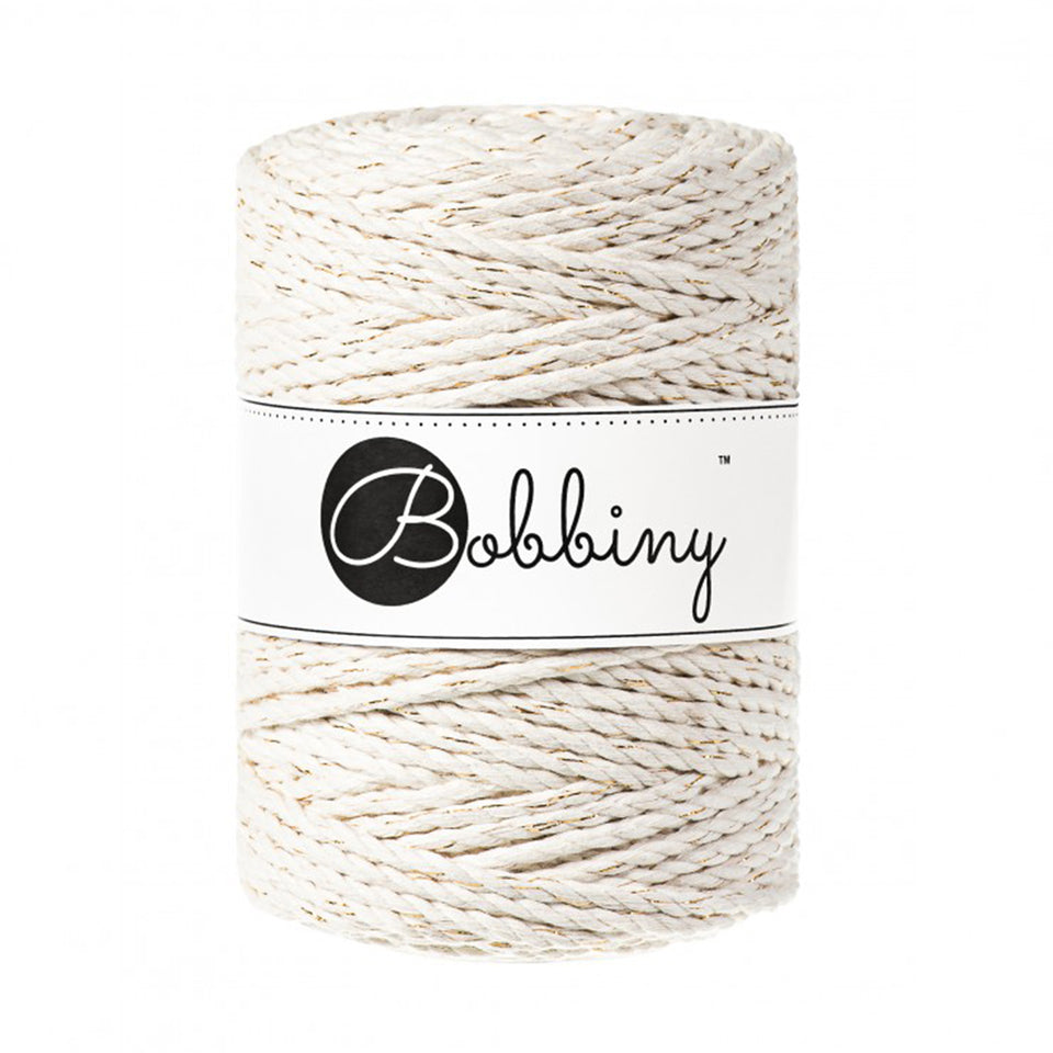 3PLY Macramé Rope 5mm Golden Touch - Fiber - Max and Herb - Bobbiny