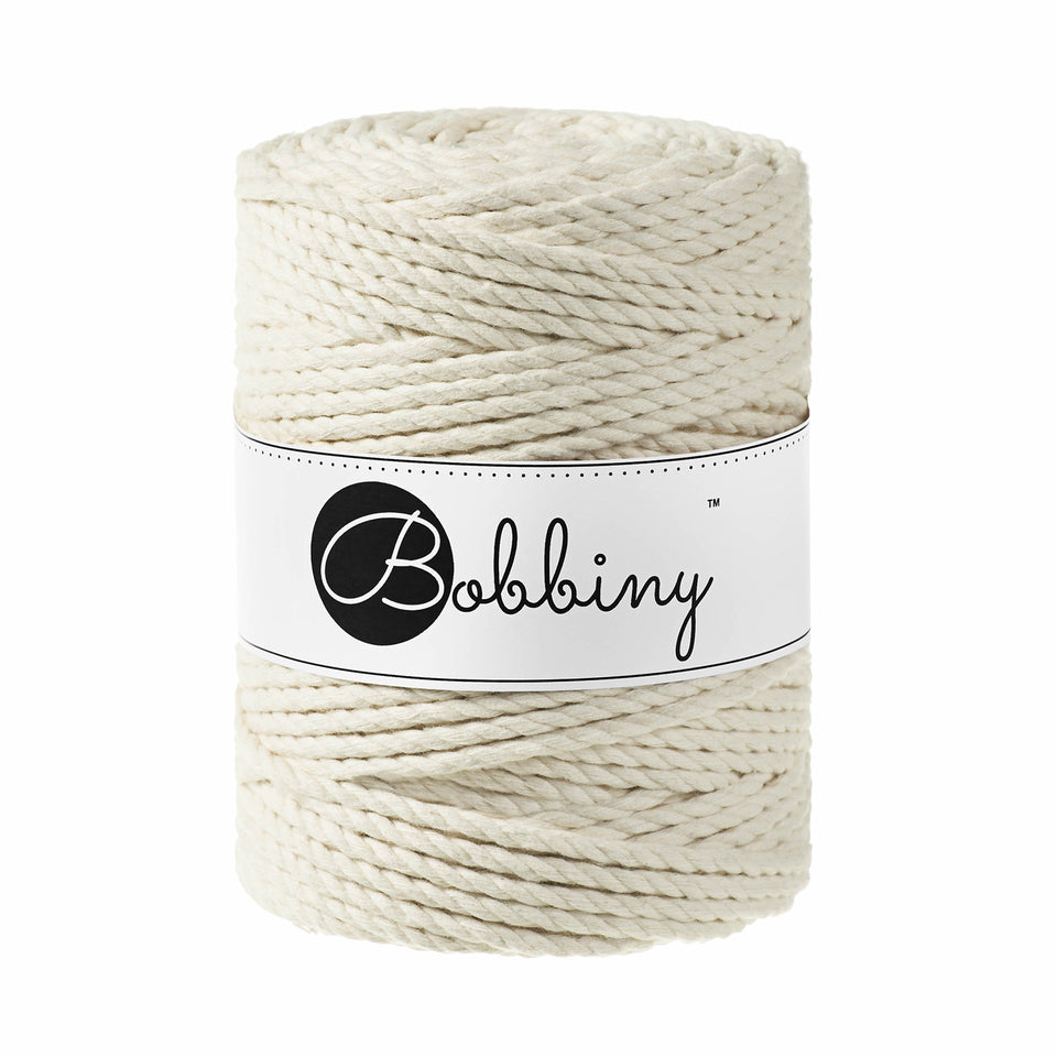 3PLY Macramé Rope 5mm - Fiber - Max and Herb - Bobbiny