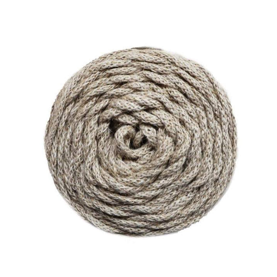 Braided Rustic Air 4.5mm Natural Linen