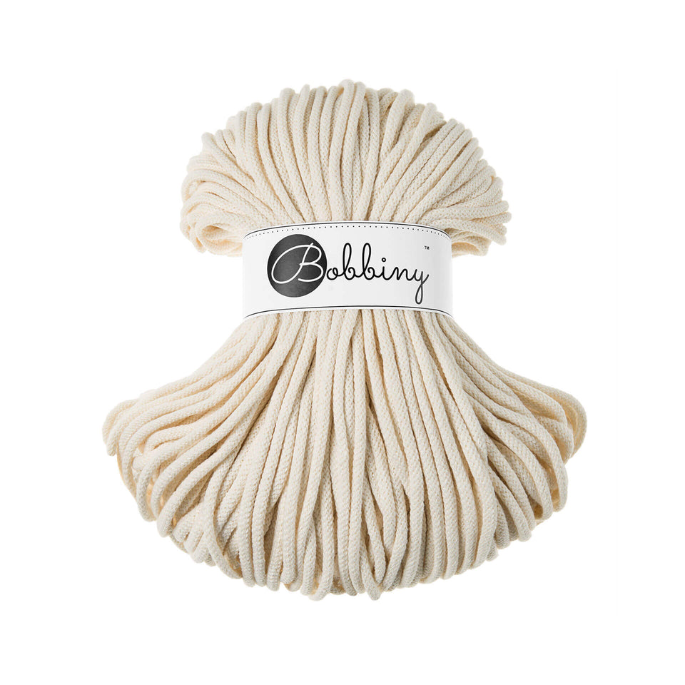 Premium Braided Cotton Cord 5mm - Fiber - [product_variant] - Max and Herb