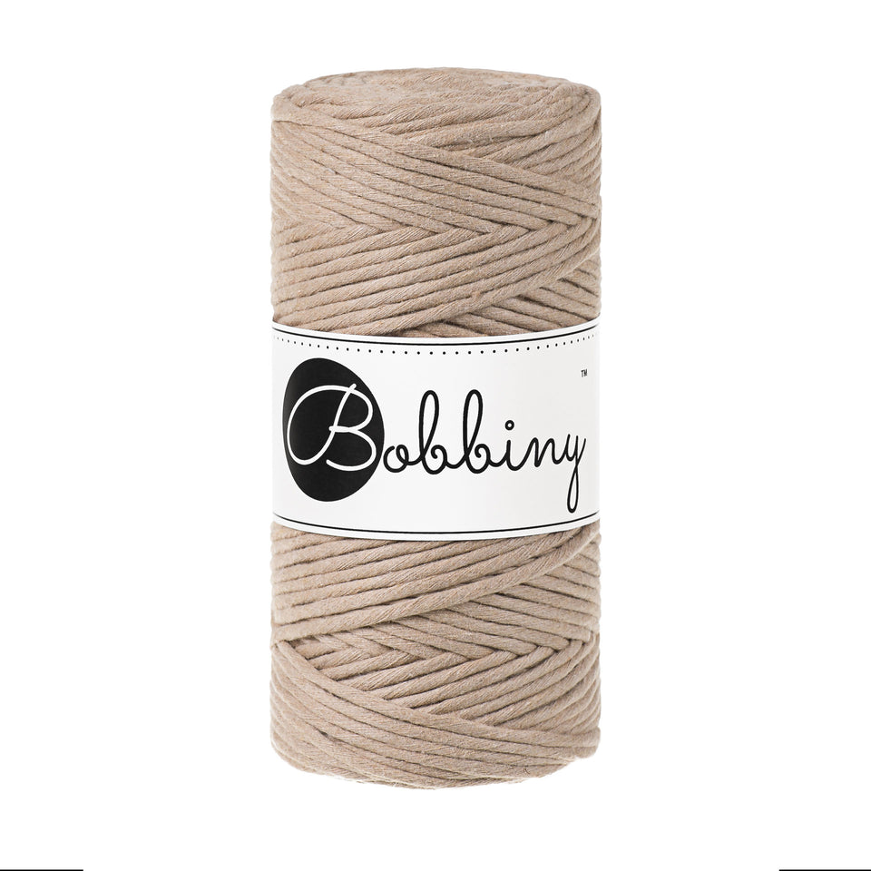 Premium Macrame Cord 3mm - Fiber - Max and Herb - Bobbiny