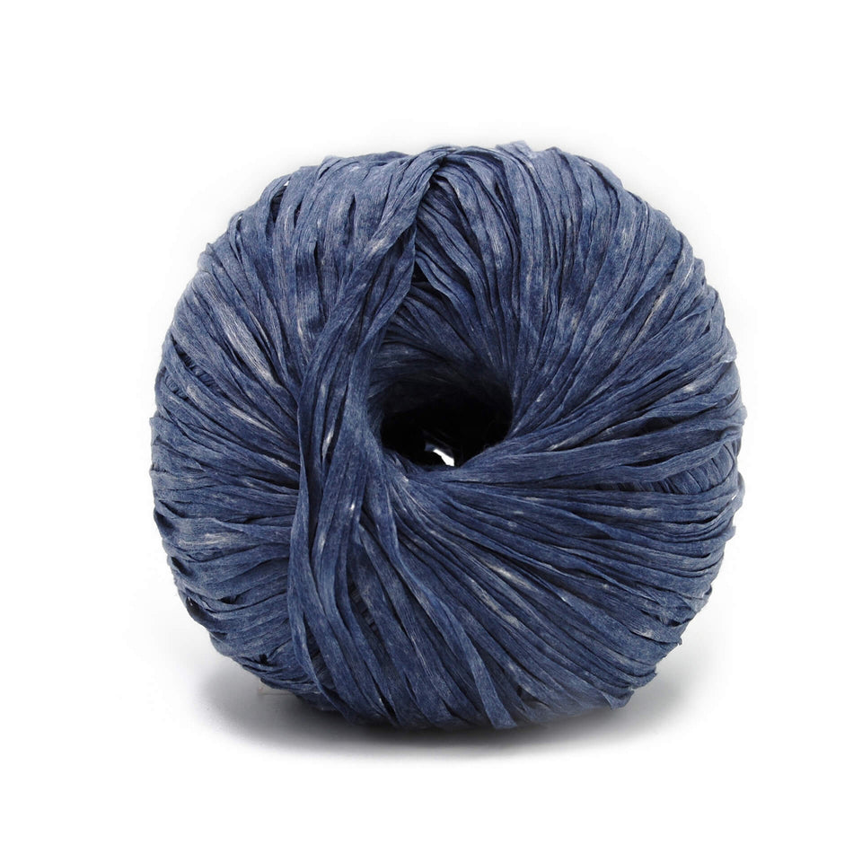 Washi Yarn - Blue Jeans 100% Recycled Fiber Light and soft