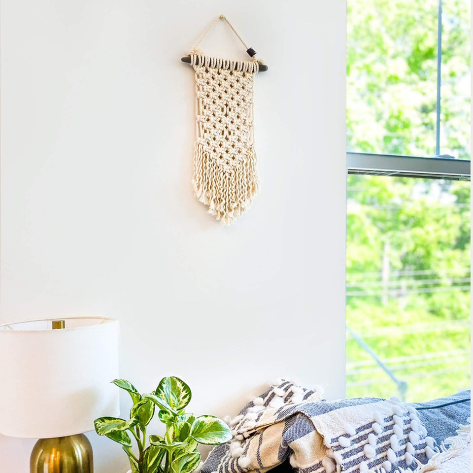 Beginner's Workshop —  Macrame Wall Hanging (In Studio)