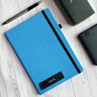 Pop of Blue Diary